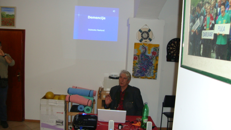 """Demencija"" - predavač: prim. dr.sc. Dubravko Marković,neurolog  06.12.2019."